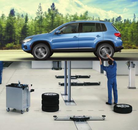 Volkswagen factory maintenance