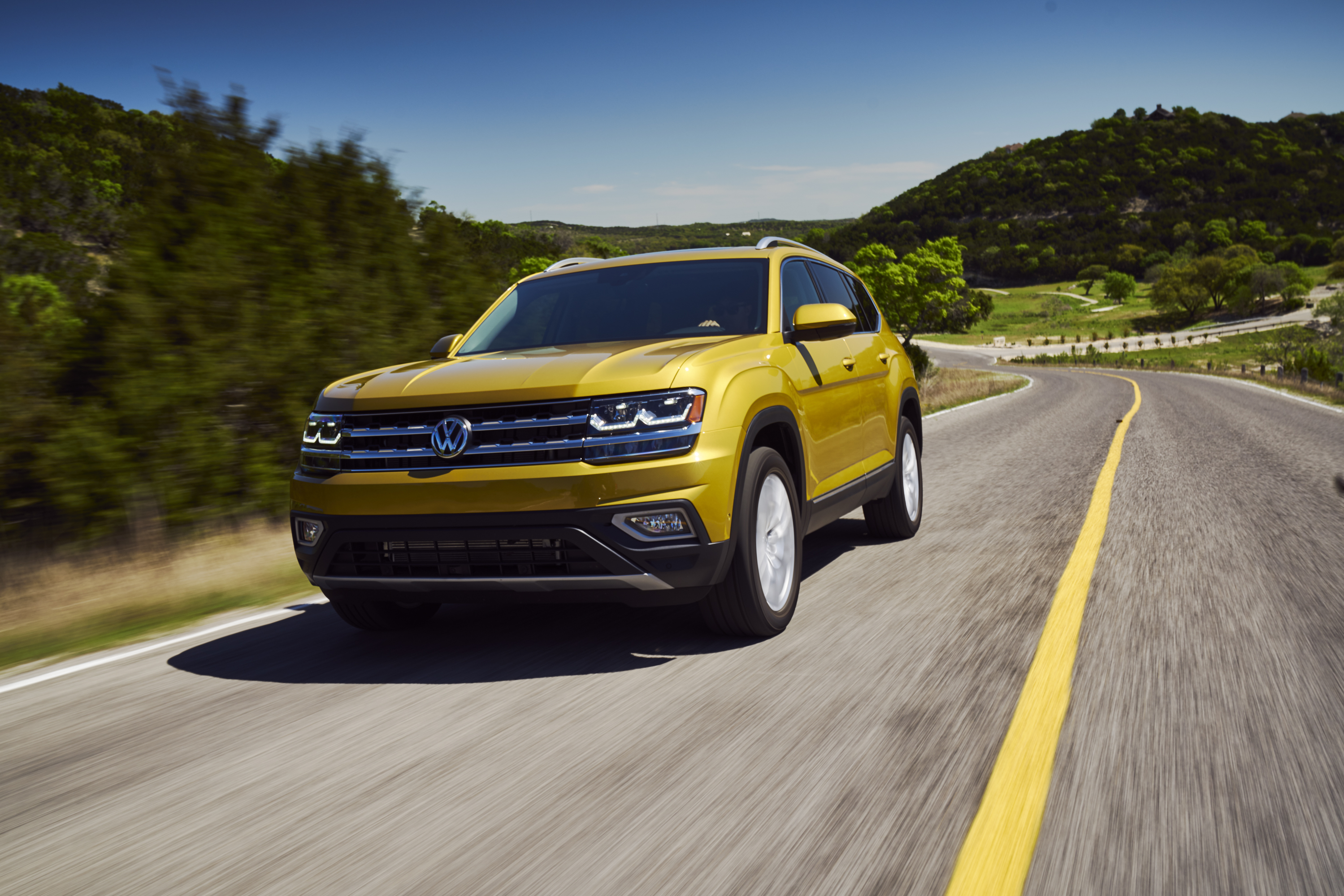 2018 VW Atlas at Mississauga Volkswagen in Toronto and the GTA