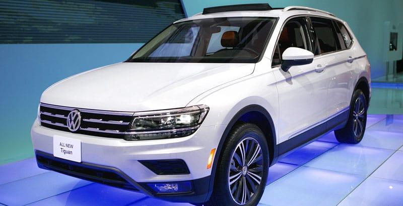 Авто тигуан 2018 года новая модель фото цена у дилера